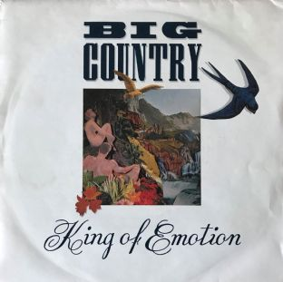 "Big Country - King Of Emotion  (7"") (VG-/VG-)"